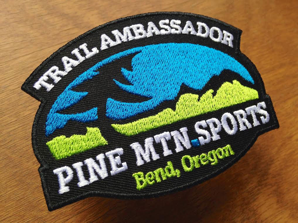 Our Trail Ambassadors do their part to earn this patch. Look for it on the trails.