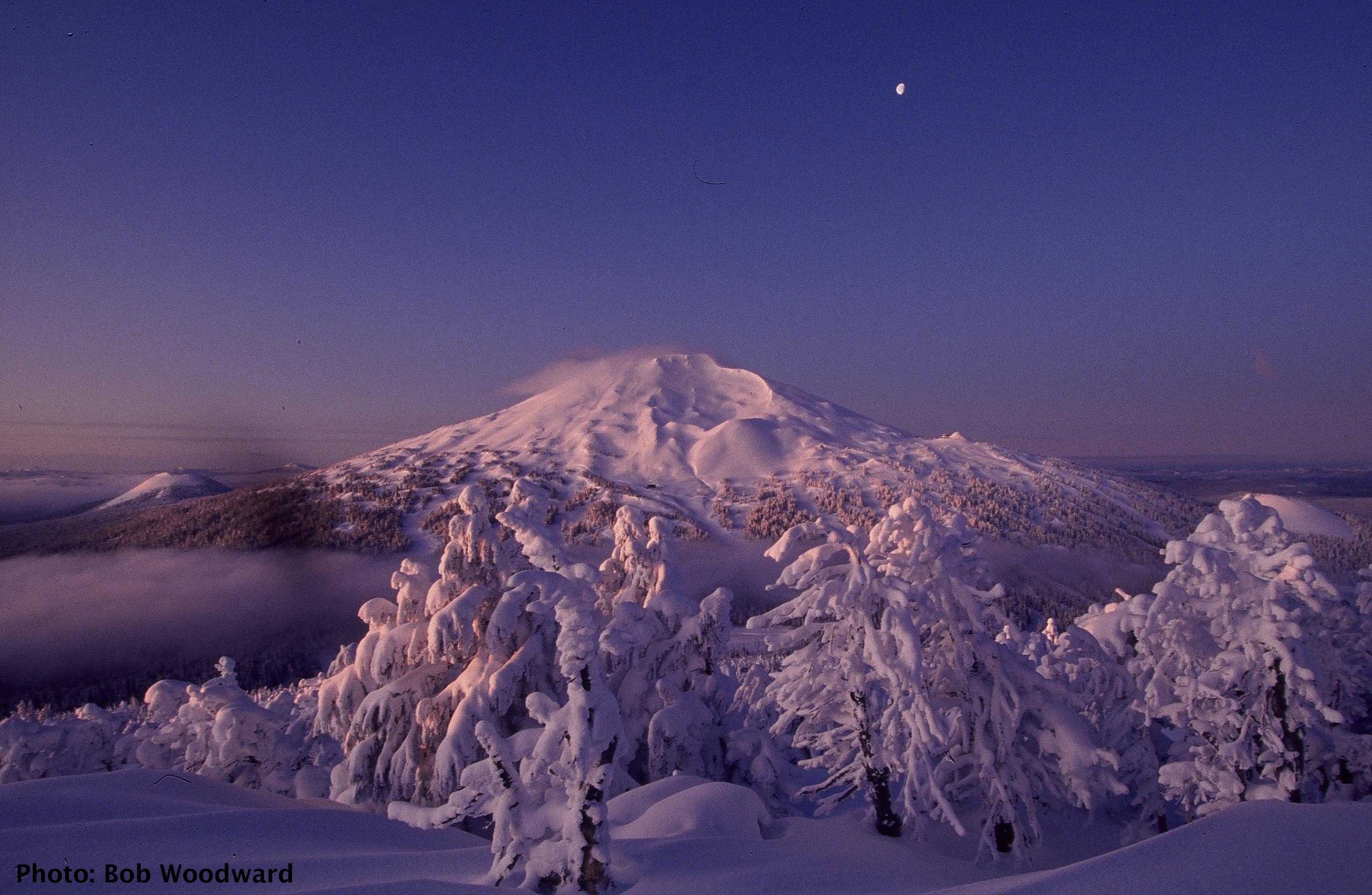 Mt. Bachelor. Oregon. Beautiful landscapes, Cascade