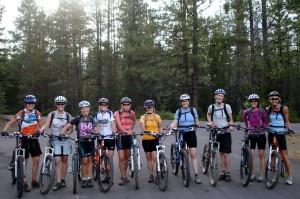 Dirt Divas Group Rides in Bend, Oregon