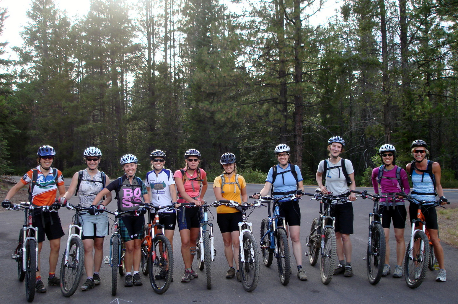 Mountain Biking Group 17