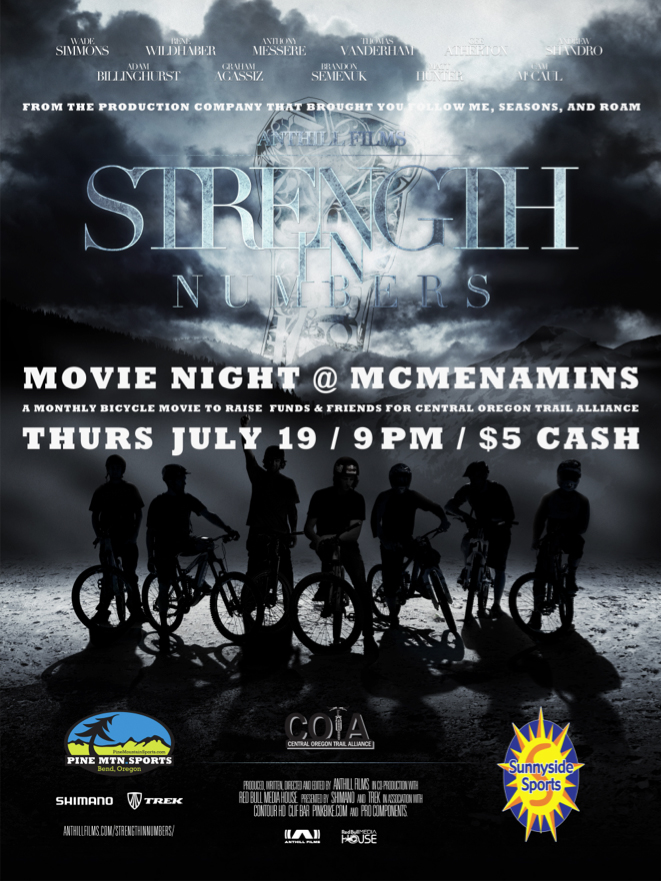 Movie Night Mcmenamins July 19th Pine Mtn Sports