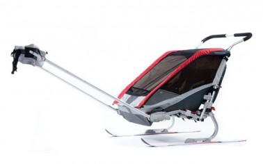 Rent Chariot Double Ski Trailer