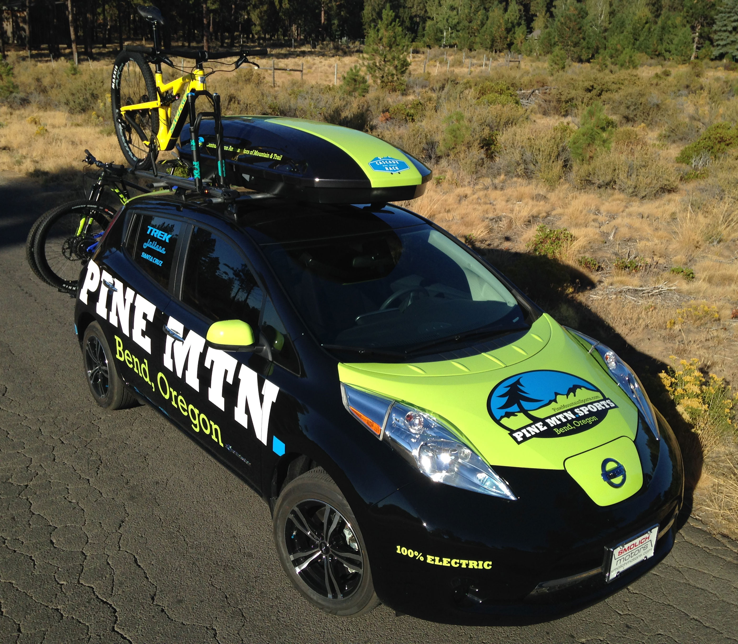 Why Our Central Oregon Ski Shop Bought An Electric Car :: Pine Mtn ...