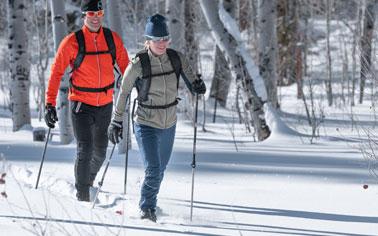 Rent Rossi & Fischer BC Ski Package